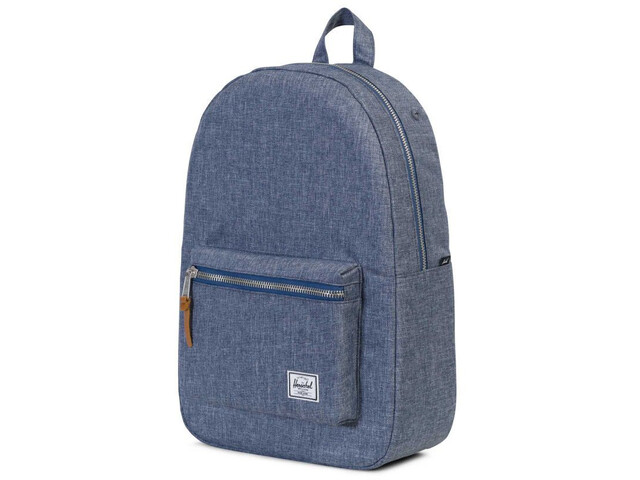 Herschel Settlement Backpack dark chambray crosshatch